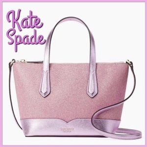 Kate Spade Lola Glitter Satchel
